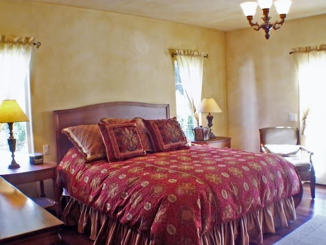 Master Bedroom -view 1