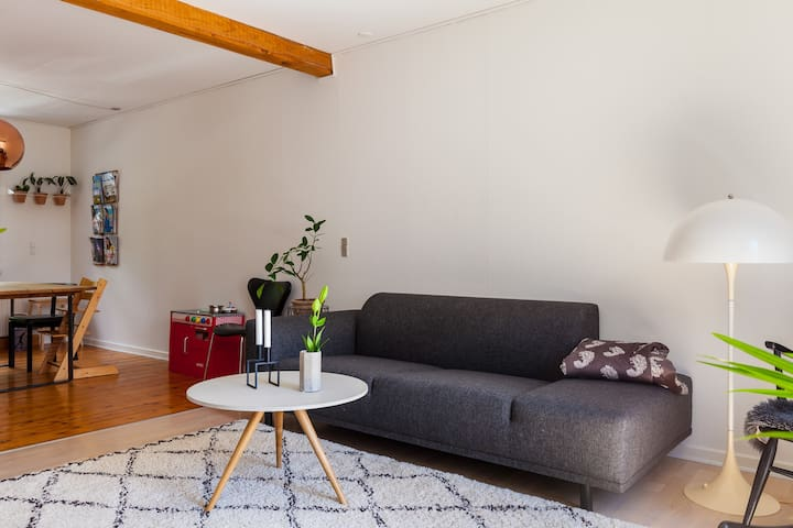 Nordic style with large balcony - Aarhus - Appartamento