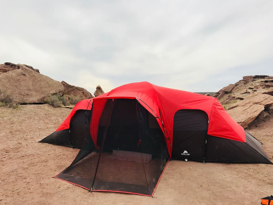 10 man tent (pictured in Warner Valley)