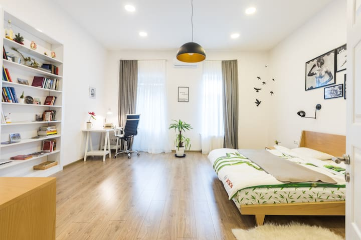 ⭐ Nordic Style Apartment Near Parliament w Balc. ⭐
