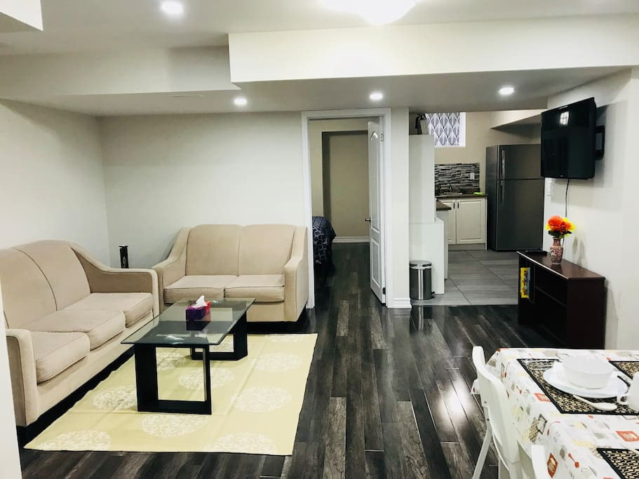 Sparkling clean & cozy 2 Bedroom Basement - Houses for ...