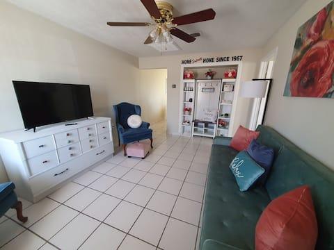 Bel appartement et confortable entièrement rénové.