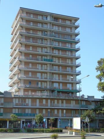 Appartamento con 1 Camera da Letto, Balcone e Vista Mare (4 Adulti)