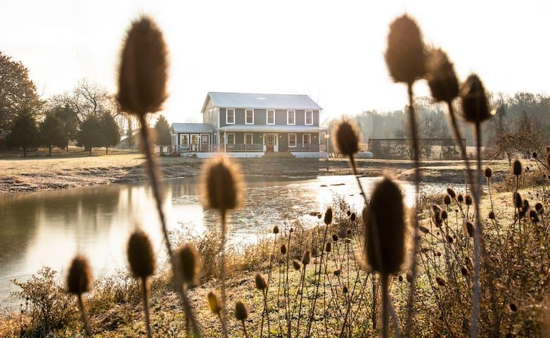 Family Farmhouse near Madison and Hanover College