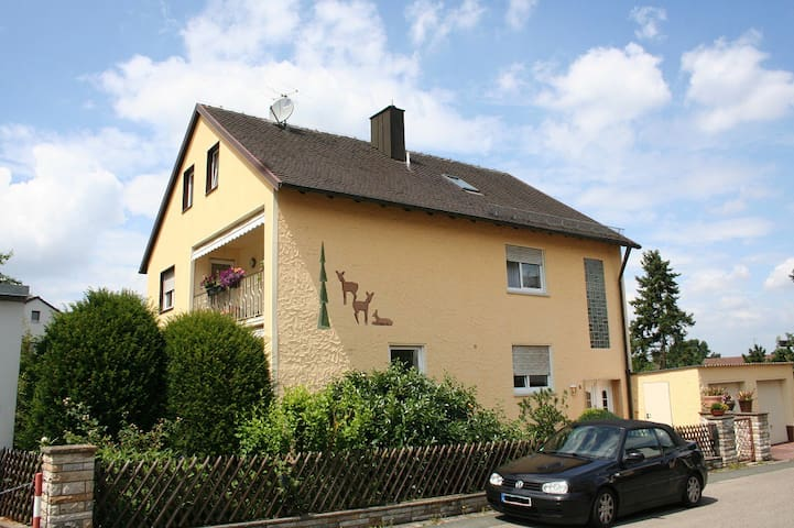 Apartment near Playmobil Funpark & Nürnberg Messe - Zirndorf - Huoneisto