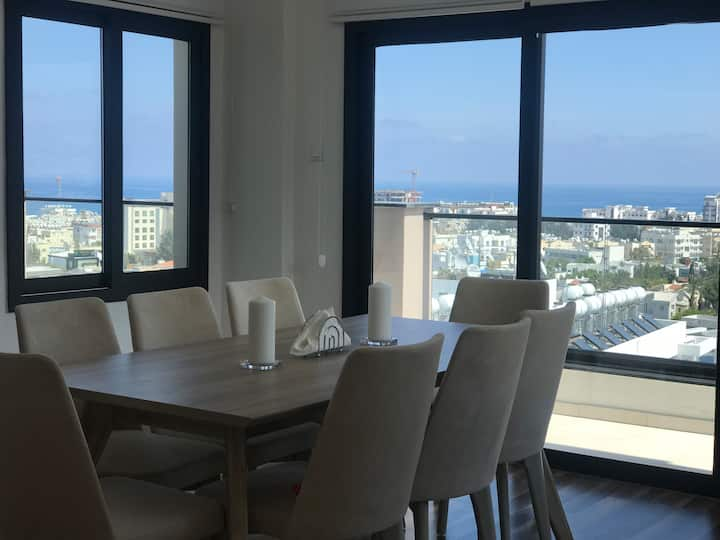 BNT Luxury Penthouse with 3 bedrooms and Sea view