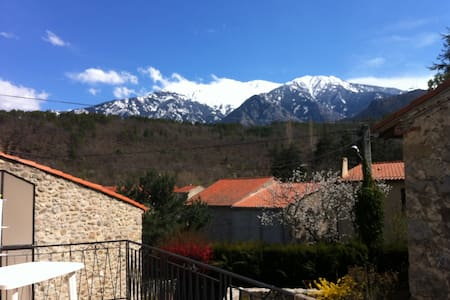 Family Holiday Home with a View of the Canigou! - Fuilla - Loma-asunto