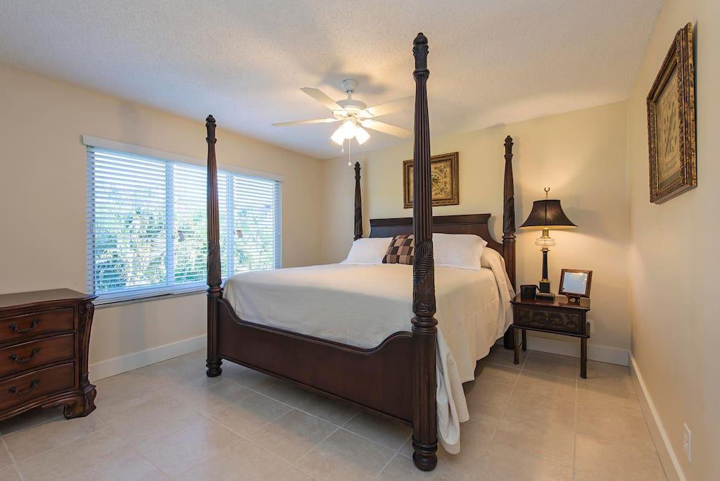 King Bedroom View 1