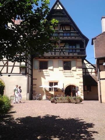 Gite le Chateau au  coeur historique d'Eguisheim - Eguisheim - Daire