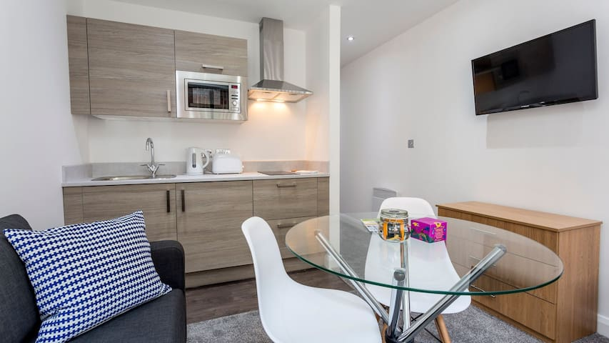 Modern Central Manchester apartment