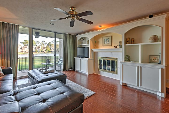 Beautiful 2BR Montgomery Condo on Lake Conroe - Montgomery - Wohnung