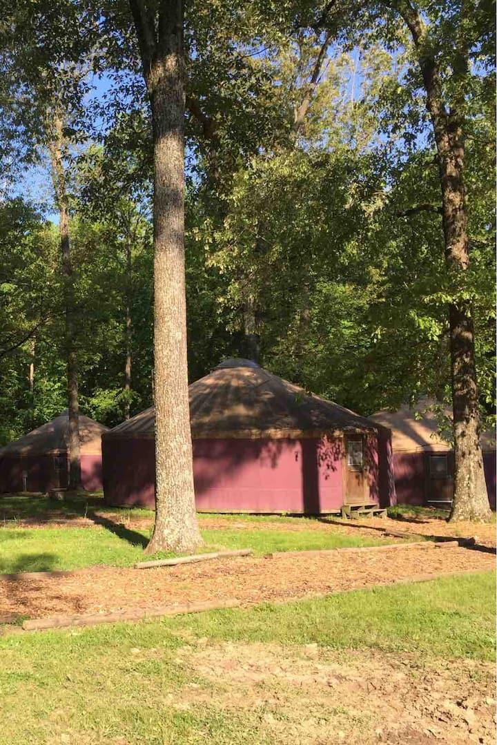 Camp Manitowa Red Yurt #2