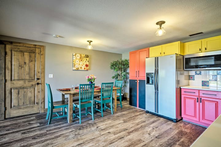 Bright, Renovated Home w/Views of Pikes Peak!