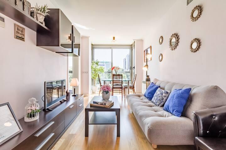 Beautiful apartment Atocha VI