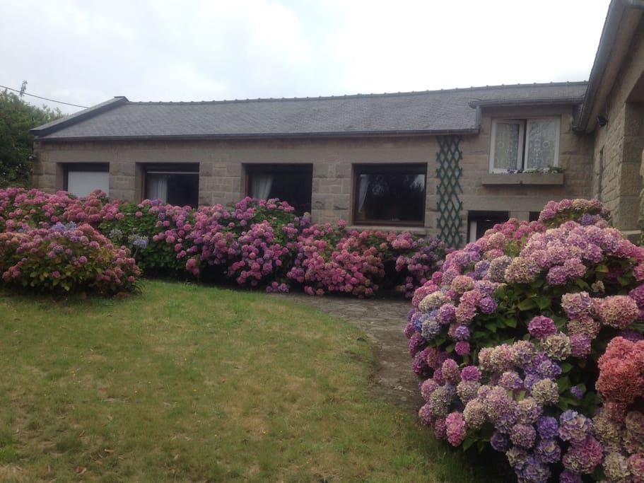 Chambres sur jardin