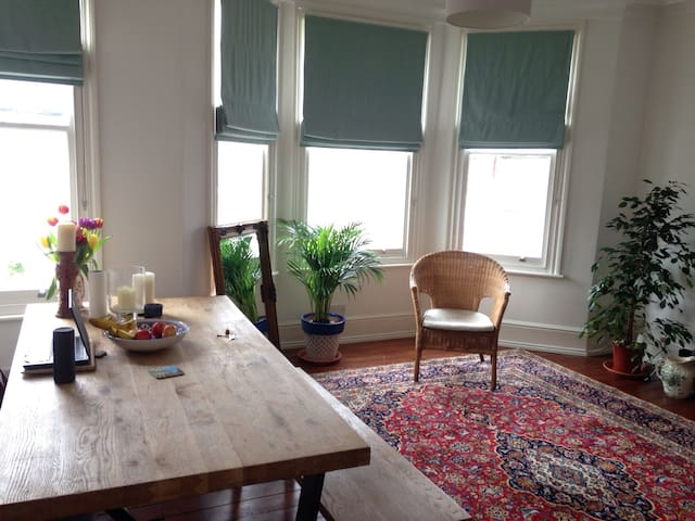 Comfy double room in bright flat - Lontoo - Huoneisto