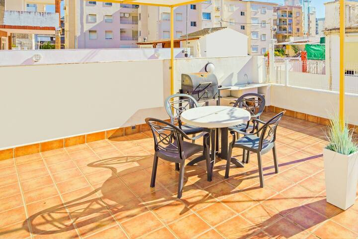 Holiday Home in Grau i Platja de Gandia near Seabeach