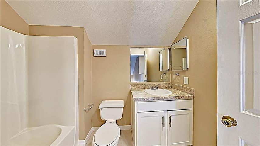 bathroom, may shared