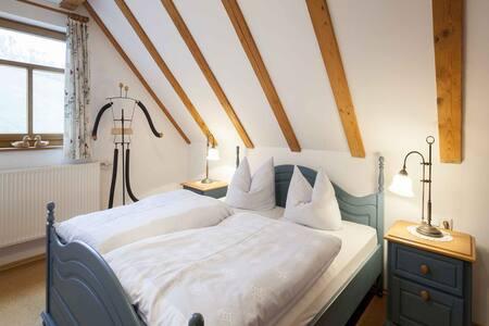 Ferienwohnung Nierenmühle, (Iphofen-Mönchsondheim), Ferienwohnung mit Balkon, 38 qm, 1 Schlafzimmer, 1 Wohn-/Schlafzimmer, max. 2 Erw. + 1 Kind