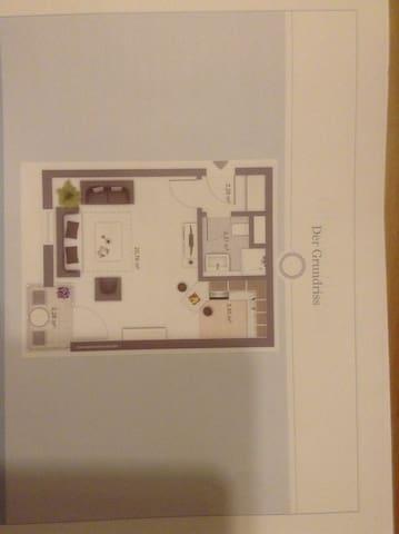 Wohnung in Zentrum am grünen Gürtel - Ingolstadt - Appartamento