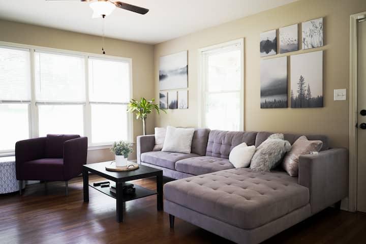 SANITIZED Cozy Room w/ Daily Fresh Coffee (Room B)