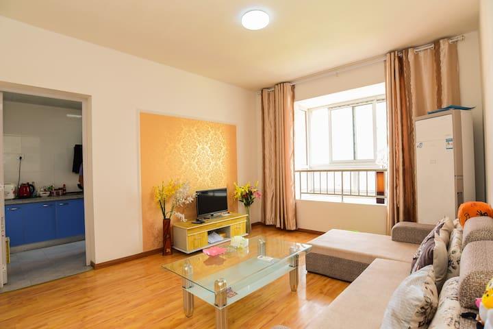 爱家公寓 近火车站 汽车站 瑶海公园 2室2厅1厨1卫1阳台豪华套房 - Hefei