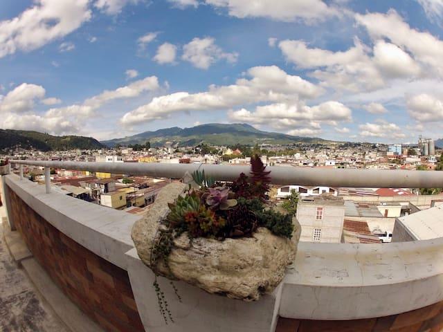 Vista Quetzaltenango lado Este