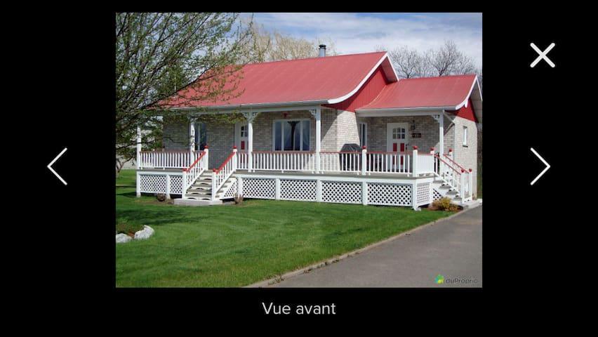 La Maison de campagne - Kamouraska - House