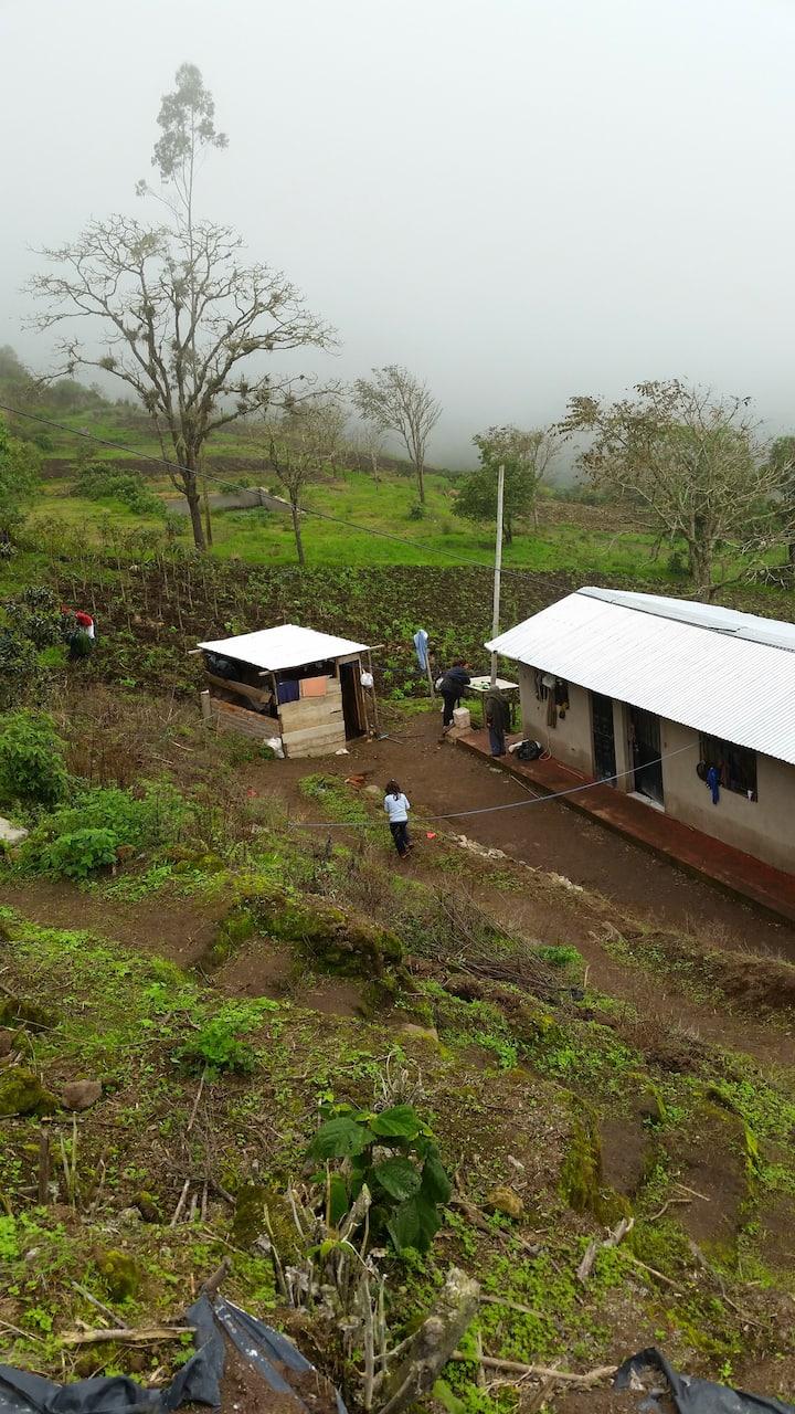 Casa de campo para descansar y ver la naturaleza