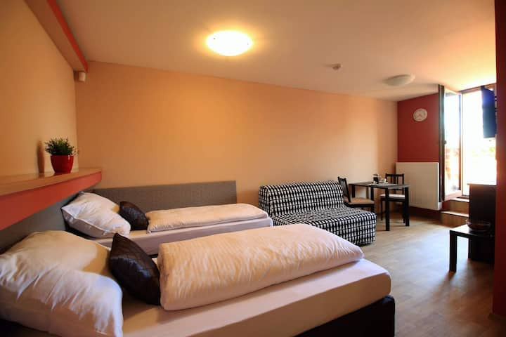 Krásný apartmán s terasou a krásným výhledem