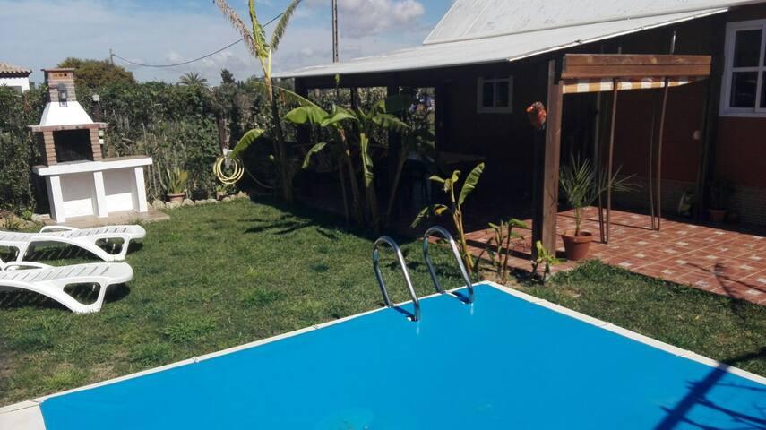 La piscina del platanero. Playa El Palmar. Vejer - Vejer de la Frontera - Haus