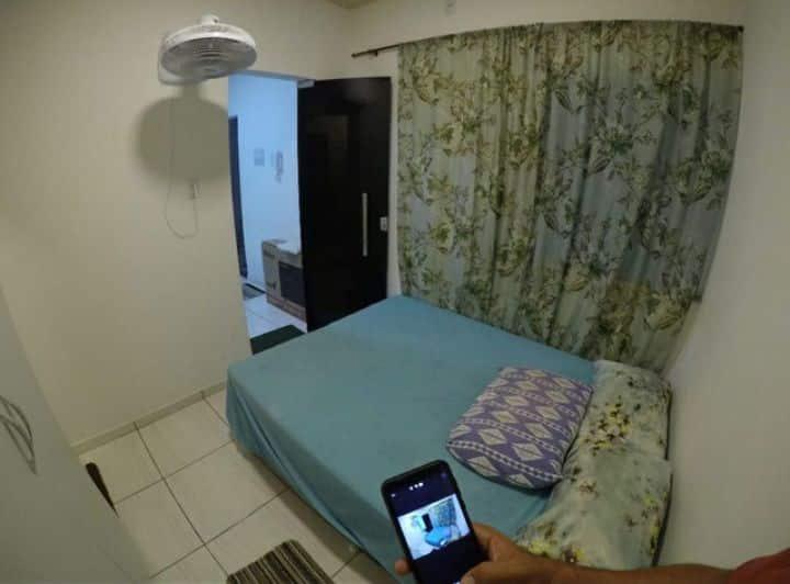 Apartamento aconchegante estilo Studio