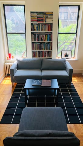 Sunny cozy room private space w/new sleeper sofa