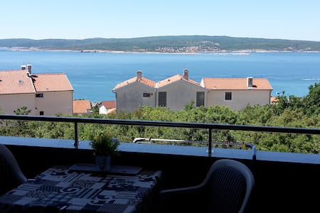 Beautiful apartment with a great view - Crikvenica