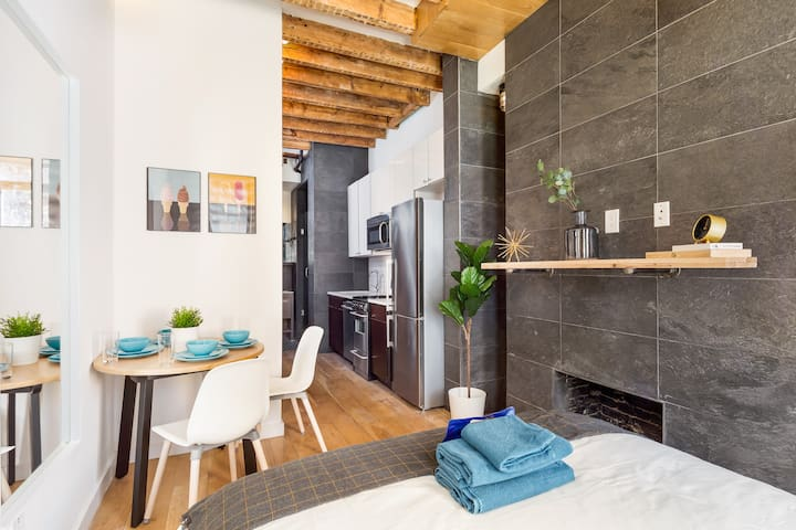 Stylish Private BR in West Village Horatio 2A-F