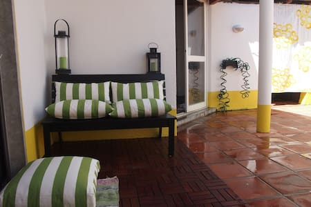 Cozy room with a porch that breathes charisma - São Domingos de Rana