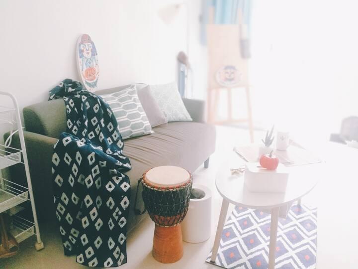 【只限女性】合住房源钟楼回民街里住在西安土著房主家一起合住吃喝玩乐在长安