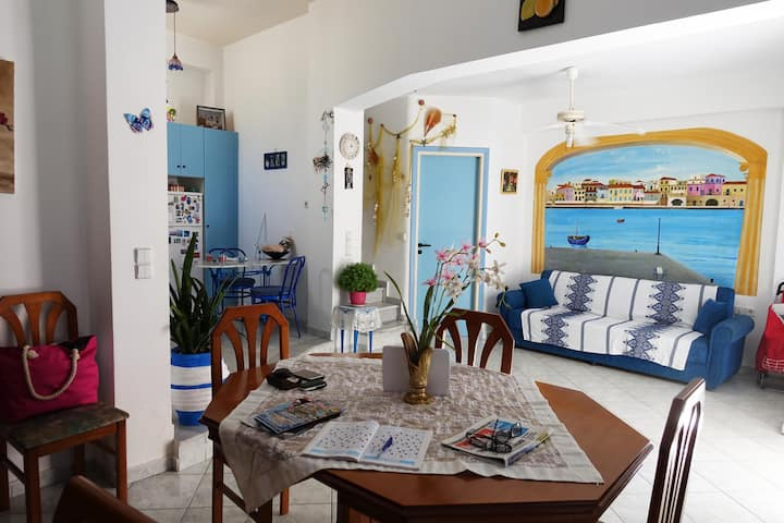 Traditional House Ceres Centr Chania|2min to beach