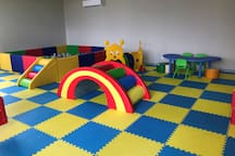 Indoor kids play area