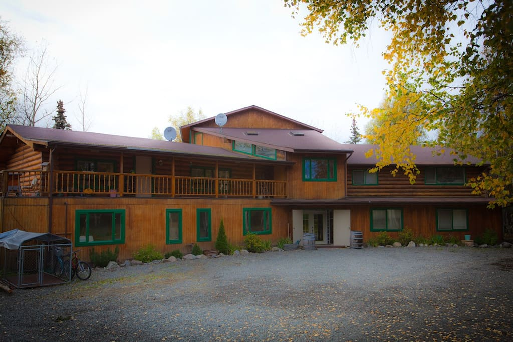 Big eddy lodge lodging weddings events chalet in for Cabine del fiume kenai soldotna ak