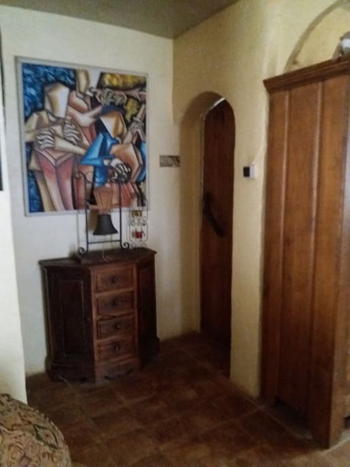 La puerta de la dormitorio