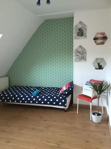 modern & comfortable room near city center - Rotterdam - Hus