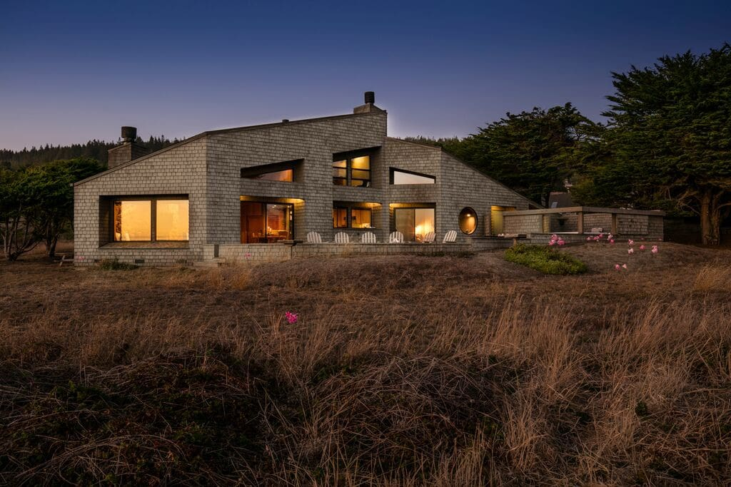 Renowned architect Elee Tsai designed this gorgeous home known as Vista Del Mar