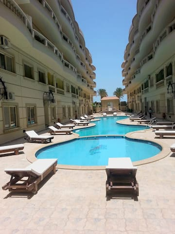 Studio in modern compaund Hurghada Red Sea Egypt - Hurghada - Apartment