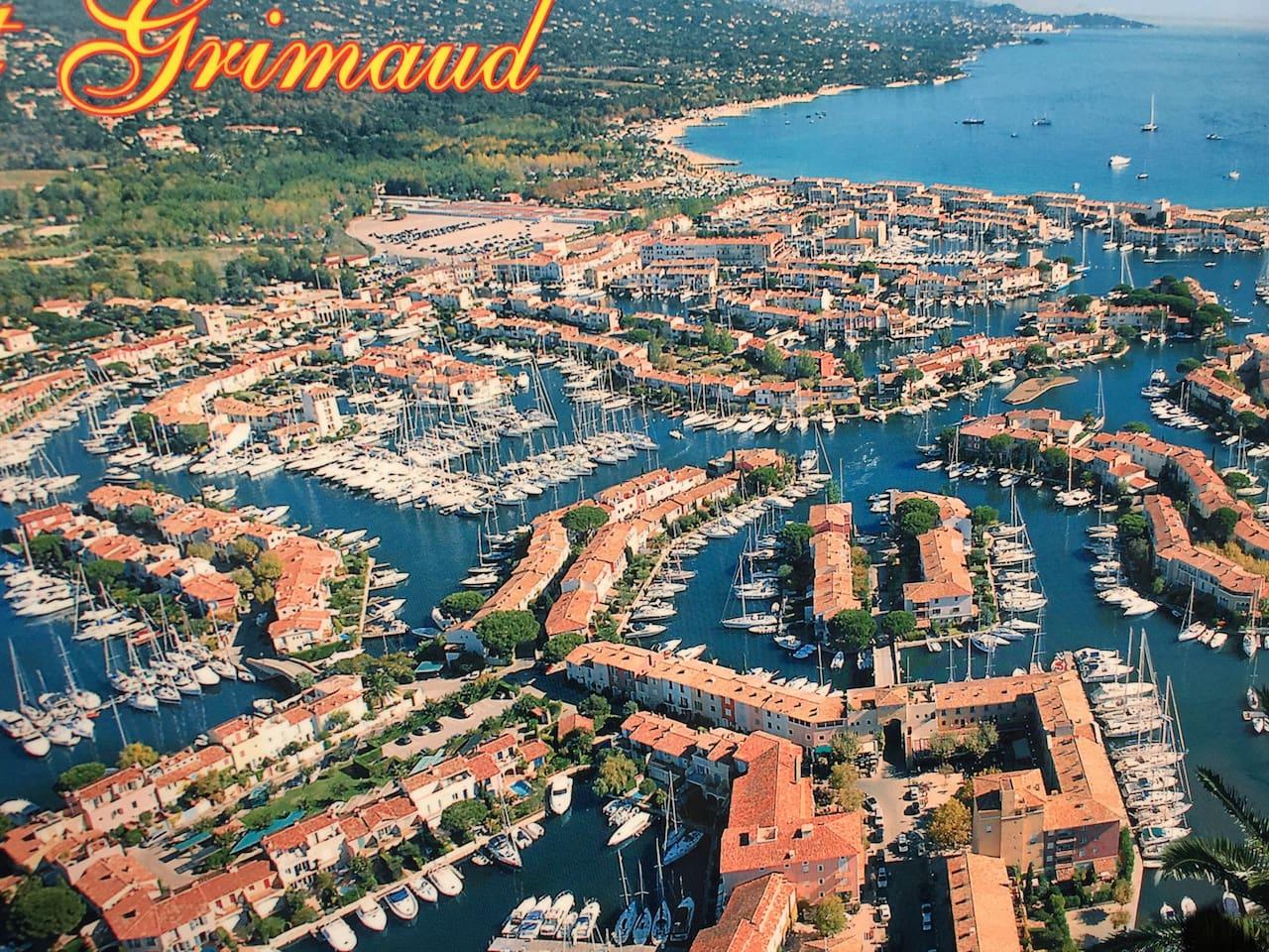 Port Grimaud nur 1, 2 km weit