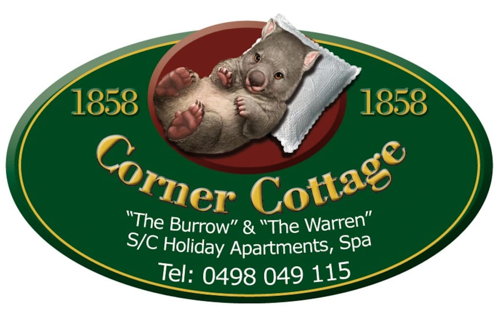 """""""The Burrow"""" apartment is now open. """"The Warren"""" (with spa) opening soon."""