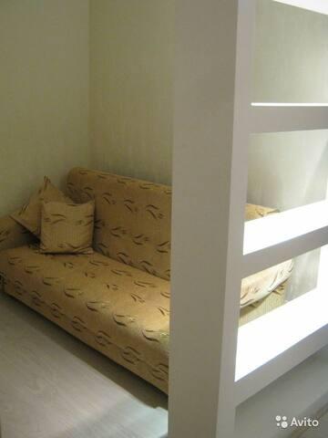 Квартира с удобствами в парке .Тихий,уютный район.