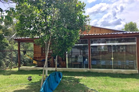 Casa com vista para o Rio Negro em Nv Airão - Novo Airão