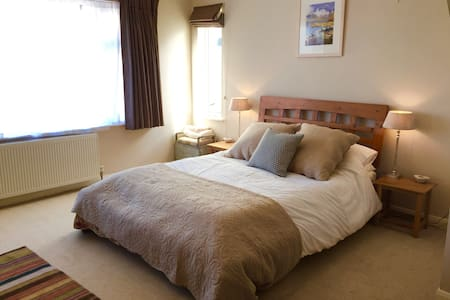 Spacious double room in Port Isaac - Port Isaac - Huis