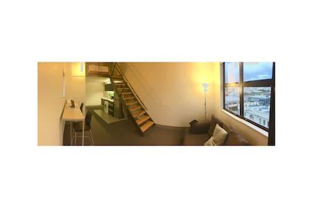 Loft style apartment near trendy Cuba St. - Wellington - Huoneisto